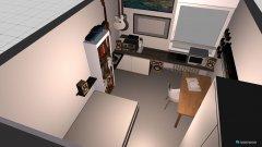 Raumgestaltung Wohnheim 2 in der Kategorie Wohnzimmer