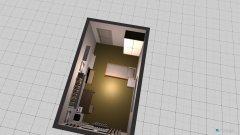 Raumgestaltung Wohnheimzimmer in der Kategorie Wohnzimmer