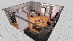 Raumgestaltung Wohnkonzept in der Kategorie Wohnzimmer