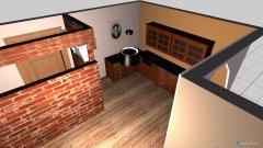 Raumgestaltung wohnküche 1 in der Kategorie Wohnzimmer