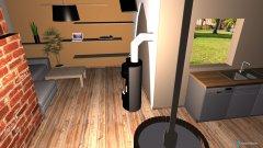 Raumgestaltung wohnküche 2 in der Kategorie Wohnzimmer