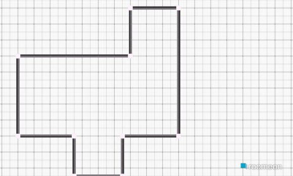 Raumgestaltung Wohnküche Erdgeschoß in der Kategorie Wohnzimmer