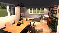 Raumgestaltung Wohnküche maybe in der Kategorie Wohnzimmer