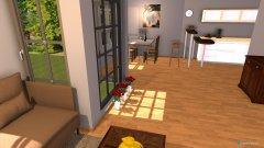 Raumgestaltung Wohnkueche in der Kategorie Wohnzimmer