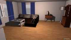 Raumgestaltung Wohnnzimmer in der Kategorie Wohnzimmer