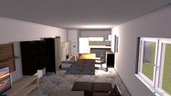 Raumgestaltung Wohnraum Moosbach in der Kategorie Wohnzimmer