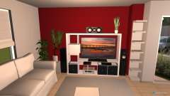 Raumgestaltung wohnraum projekt in der Kategorie Wohnzimmer