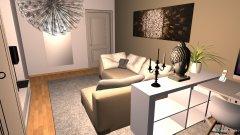 Raumgestaltung WohnSchlafArbeit2 in der Kategorie Wohnzimmer