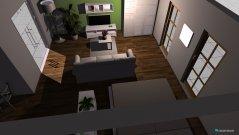 Raumgestaltung wohnschlafzimmer jules in der Kategorie Wohnzimmer