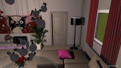 Raumgestaltung Wohnstube in der Kategorie Wohnzimmer