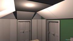 Raumgestaltung Wohnstudio leer in der Kategorie Wohnzimmer