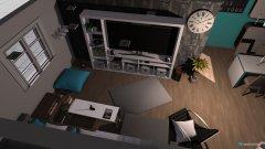 Raumgestaltung Wohntimmer in der Kategorie Wohnzimmer