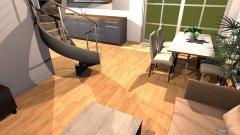 Raumgestaltung Wohnung 0.1 in der Kategorie Wohnzimmer