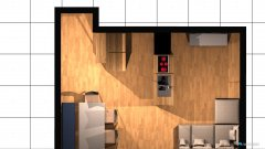 Raumgestaltung Wohnung .01 in der Kategorie Wohnzimmer
