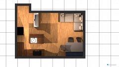Raumgestaltung Wohnung .03 in der Kategorie Wohnzimmer
