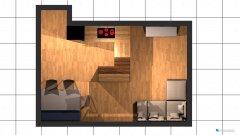 Raumgestaltung Wohnung .04 in der Kategorie Wohnzimmer