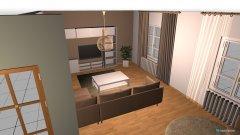 Raumgestaltung Wohnung 1 in der Kategorie Wohnzimmer