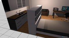 Raumgestaltung Wohnung 2 in der Kategorie Wohnzimmer