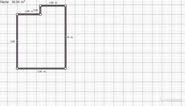 Raumgestaltung Wohnung 4-Etage in der Kategorie Wohnzimmer