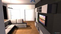 Raumgestaltung Wohnung a in der Kategorie Wohnzimmer