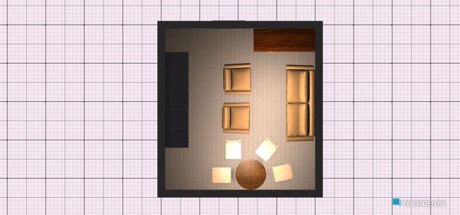 Raumgestaltung Wohnung Beate Frank in der Kategorie Wohnzimmer