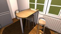 Raumgestaltung Wohnung Bischofshofen Wohnküche in der Kategorie Wohnzimmer