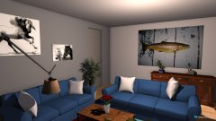 Raumgestaltung Wohnung Bochum in der Kategorie Wohnzimmer