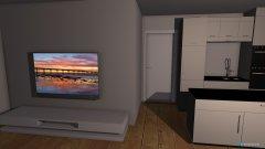 Raumgestaltung Wohnung Dannie in der Kategorie Wohnzimmer