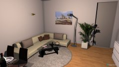 Raumgestaltung Wohnung Dottikon 3 in der Kategorie Wohnzimmer