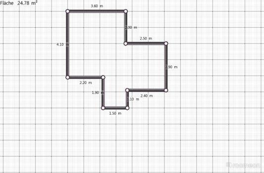Raumgestaltung Wohnung Etage 1 in der Kategorie Wohnzimmer