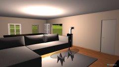 Raumgestaltung Wohnung goldenbeek in der Kategorie Wohnzimmer
