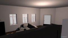 Raumgestaltung Wohnung Gustav 25 in der Kategorie Wohnzimmer