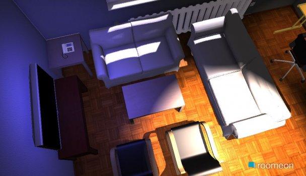 Raumgestaltung Wohnung Hanau in der Kategorie Wohnzimmer