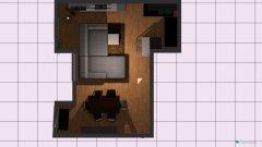 Raumgestaltung Wohnung Hütteldorferstr. in der Kategorie Wohnzimmer
