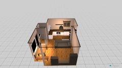 Raumgestaltung Wohnung Kastel in der Kategorie Wohnzimmer