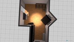 Raumgestaltung Wohnung Kevin in der Kategorie Wohnzimmer