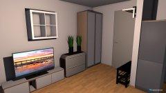 Raumgestaltung Wohnung links 1. OG in der Kategorie Wohnzimmer