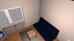 Raumgestaltung Wohnung Mariska  in der Kategorie Wohnzimmer