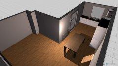 Raumgestaltung Wohnung nach Umbau 1 - Küche - Tischproblem in der Kategorie Wohnzimmer