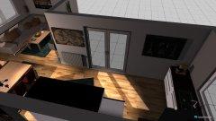 Raumgestaltung Wohnung nach Umbau 1 - Küche - Variante 2  in der Kategorie Wohnzimmer