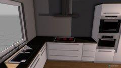 Raumgestaltung Wohnung nach Umbau 1 - Küche in der Kategorie Wohnzimmer