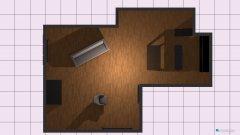 Raumgestaltung Wohnung Peter in der Kategorie Wohnzimmer