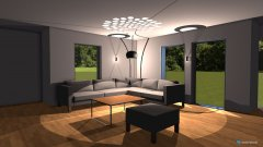 Raumgestaltung wohnung reg5 in der Kategorie Wohnzimmer