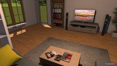 Raumgestaltung Wohnung St. Martin in der Kategorie Wohnzimmer