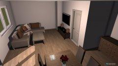 Raumgestaltung Wohnung Test 1 in der Kategorie Wohnzimmer