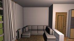 Raumgestaltung Wohnung Tramin in der Kategorie Wohnzimmer