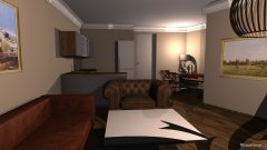 Raumgestaltung Wohnung Wansbek 2 in der Kategorie Wohnzimmer