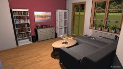 Raumgestaltung Wohnung-WNK - Wohnzimmer in der Kategorie Wohnzimmer