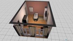 Raumgestaltung Wohnung - Wohnzimmer in der Kategorie Wohnzimmer