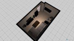 Raumgestaltung Wohnung-Wohnzimmer in der Kategorie Wohnzimmer